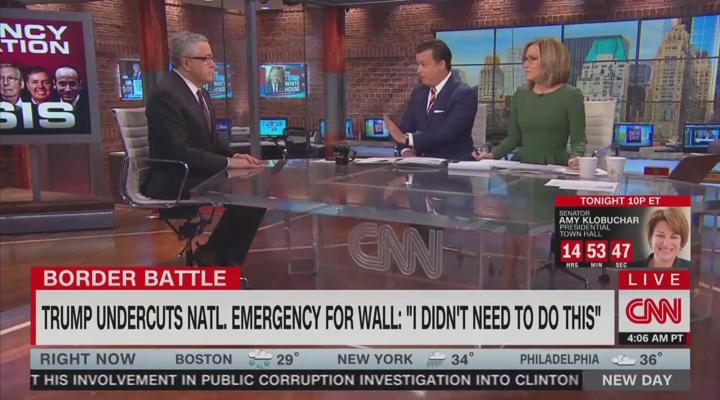 CNN Mocks Trump for Eating Omelet During Border Emergency https://t.co/eutietT5tq