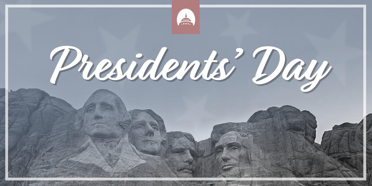Today we honor the leaders who have preserved freedom and opportunity, and made America the greatest country in the world. Happy #PresidentsDay! 🇺🇸