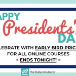 Image for the Tweet beginning: Happy #PresidentsDay !  Celebrate with