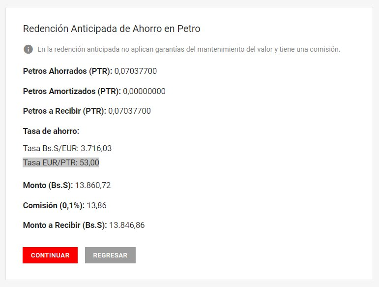 Información sobre la criptomoneda Petro. DzspvPsXcAEz5i9