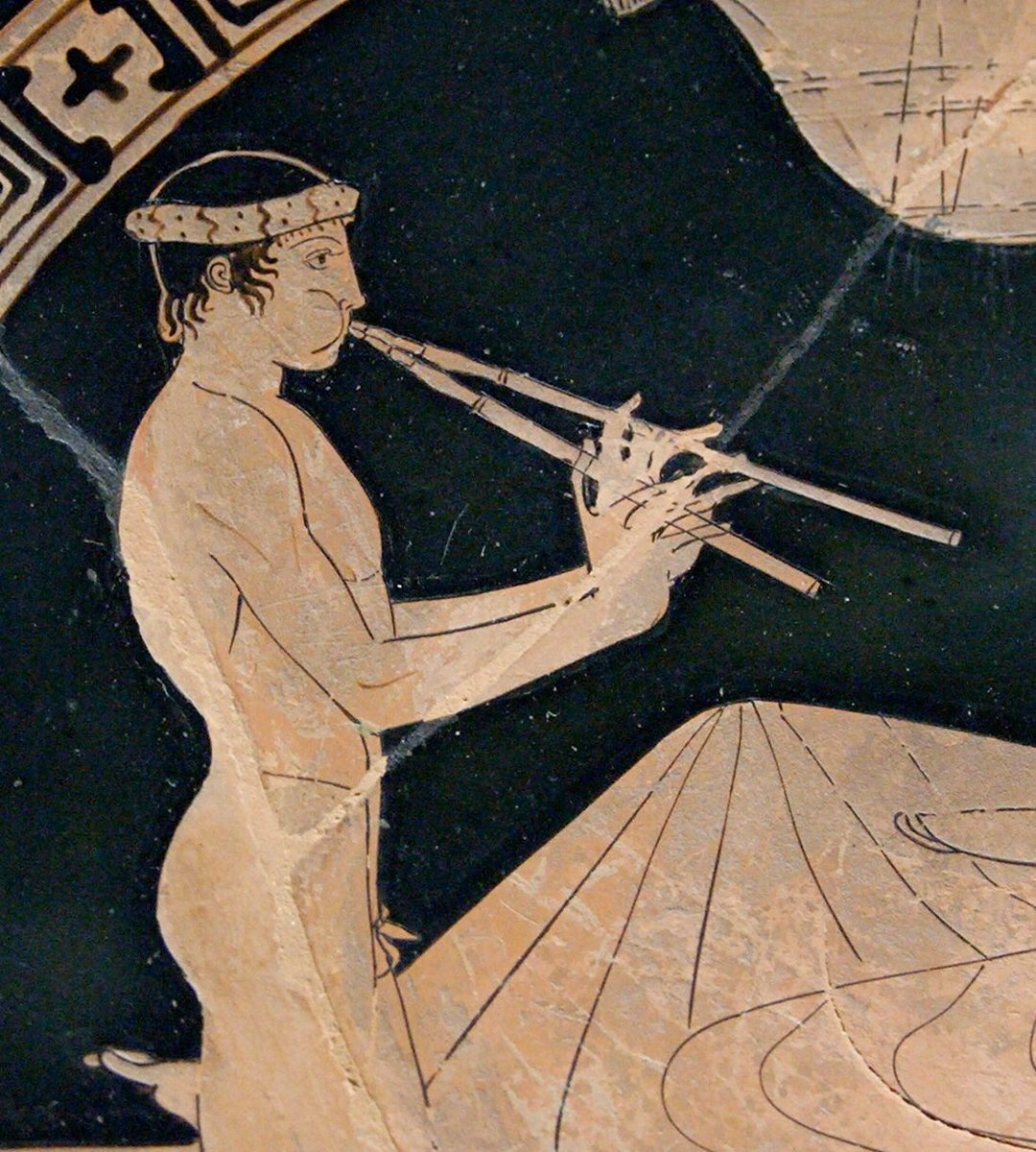 Want to hear what Ancient Greek music sounded like? Eager to revisit the roots of European musical tradition? Join us, Friday 3pm in JH7 for a special lecture and AV demonstration by @ArmandDAngour, with a reception to follow after! @MusicMaynooth @MaynoothUni #classics #aulos