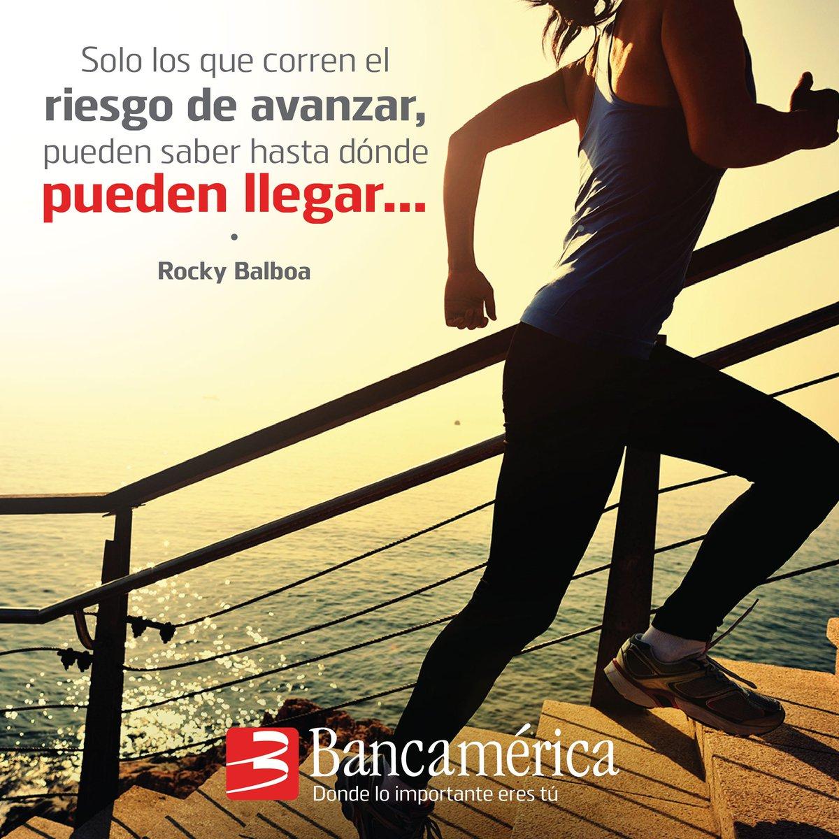 Bancamerica On Twitter Solo Los Que Corren El Riesgo De