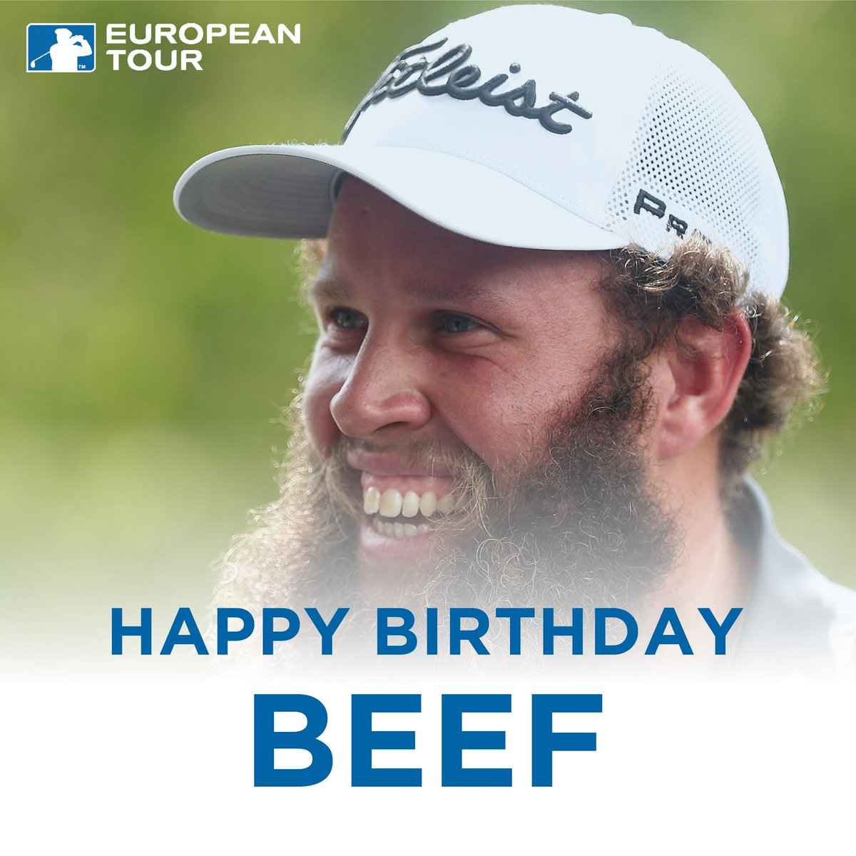 February 18 - a good day for golf 😉  Happy birthday to @BeefGolf and @thomasbjorngolf 🎂
