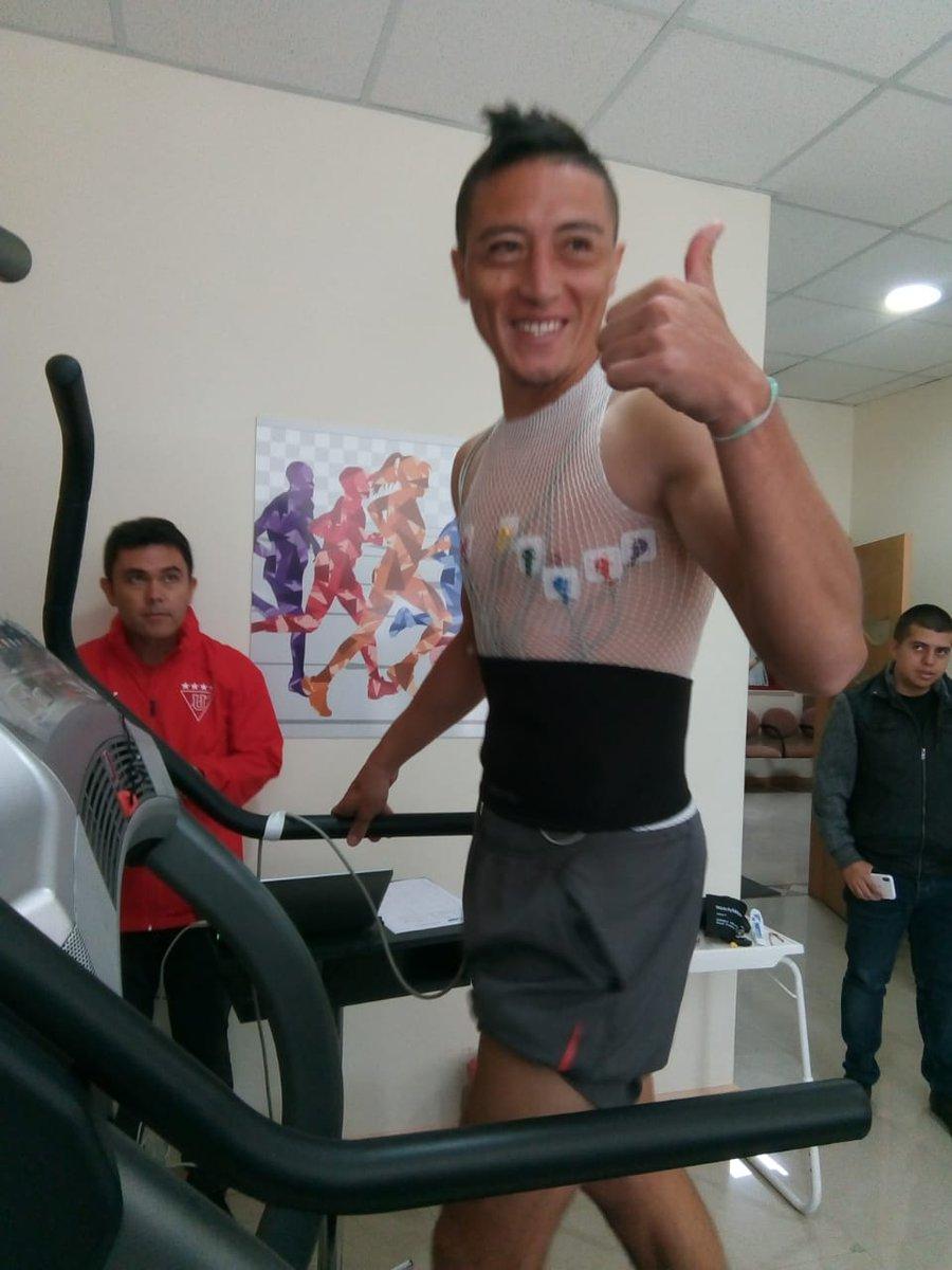 """Jacob Murillo nuevo jugador de @LDU_Oficial. """"Todo salió muy bien en los chequeos médicos y ahora a concentrarme en el club"""".   @LDU_Oficial"""