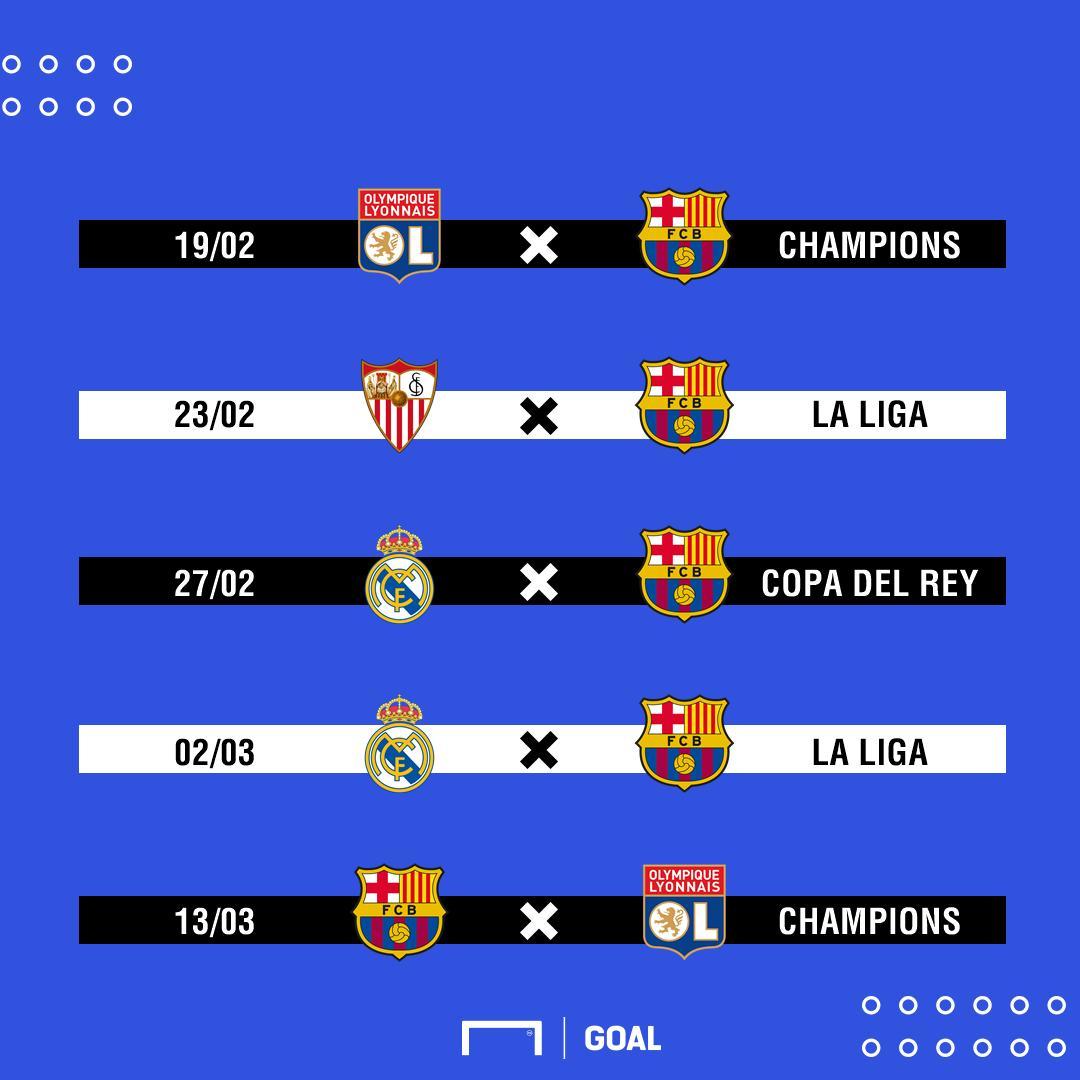 ¡Un mes TERRIBLE para el Barcelona! 😱😱😱