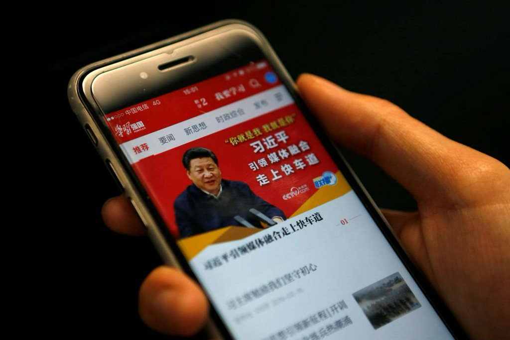 Alibaba is the force behind hit Chinese Communist Party app: sources https://reut.rs/2SKwVNo
