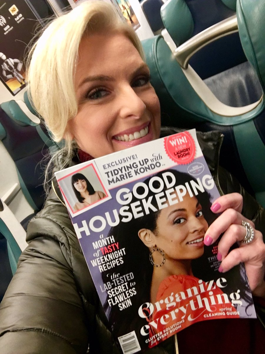 Thank you @goodhousemag for giving your #sealofapproval on #mostlysunny I am honored and touched you picked it for your #bookofthemonth @HarperCollins #march5