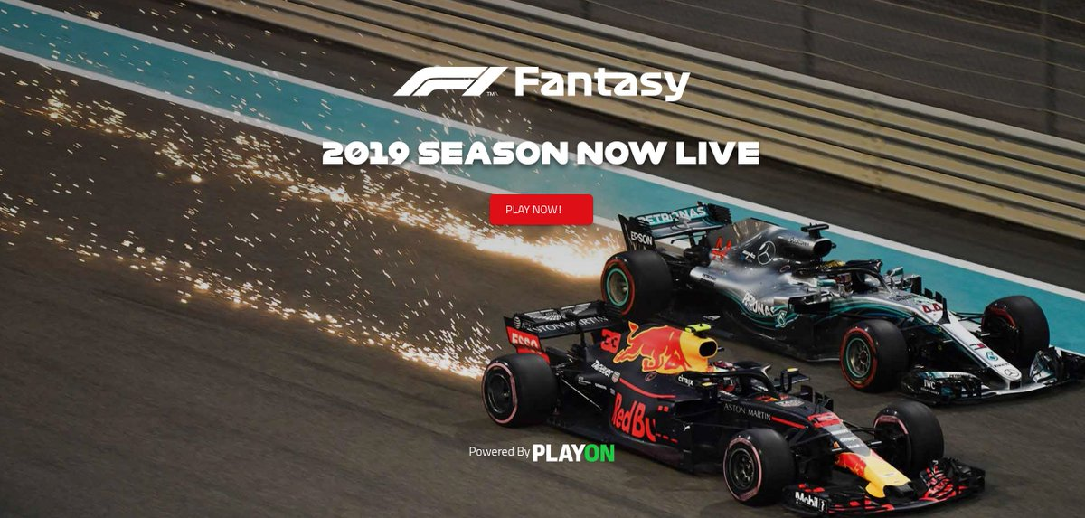 TIME TO PICK YOUR TEAM!  F1 Fantasy 2019 is now LIVE >> https://t.co/dYTVH7khw6   Sign up for free, choose your squad, get your friends involved 👍   #F1Fantasy