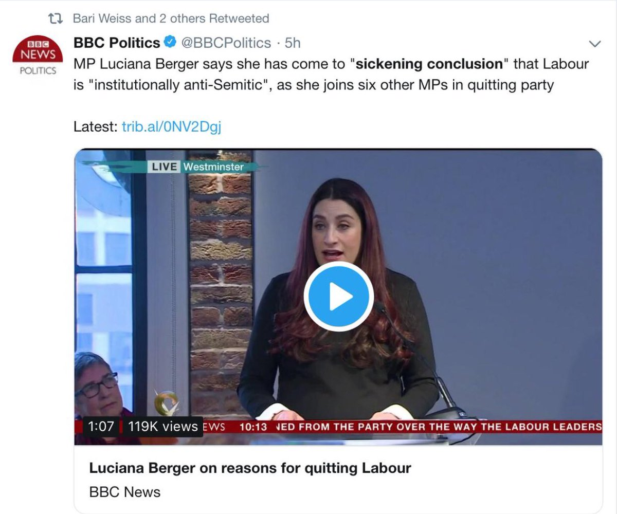 Shouldn't genuine victims of anti-Semitism be speaking out against Labour defectors trivialization?