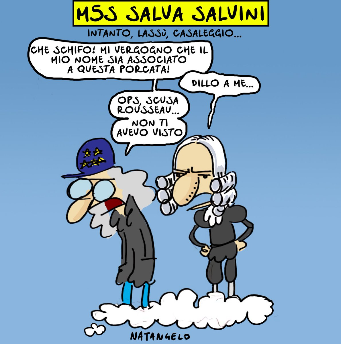 Caso Diciotti, sulla piattaforma Rousseau i grillini dicono no al processo per Salvini #m5s #lega #PiattaformaRousseau #casaleggio #dimaio #rousseau #natangelo