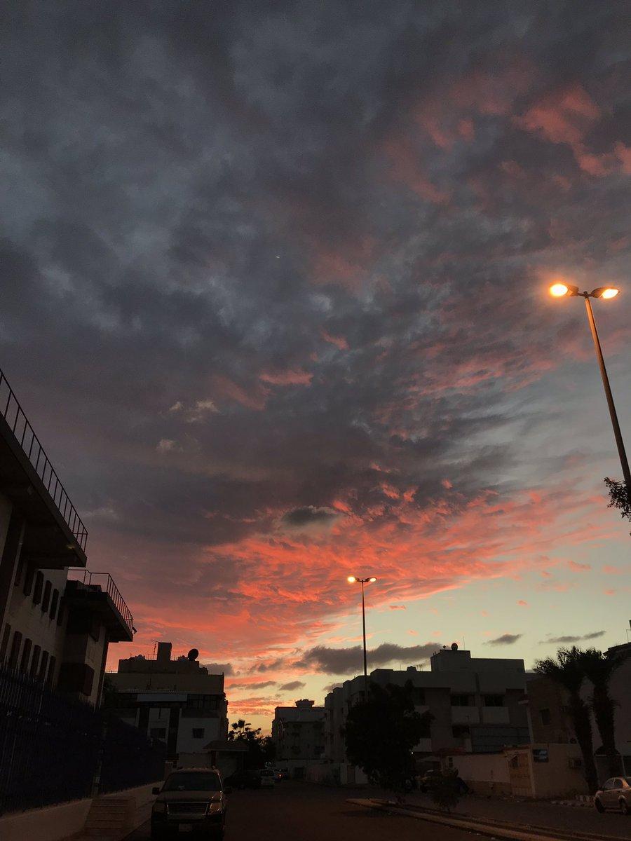Good weather day it was! #jeddah #makkah  #SaudiArabian #ksa #sunset #clouds