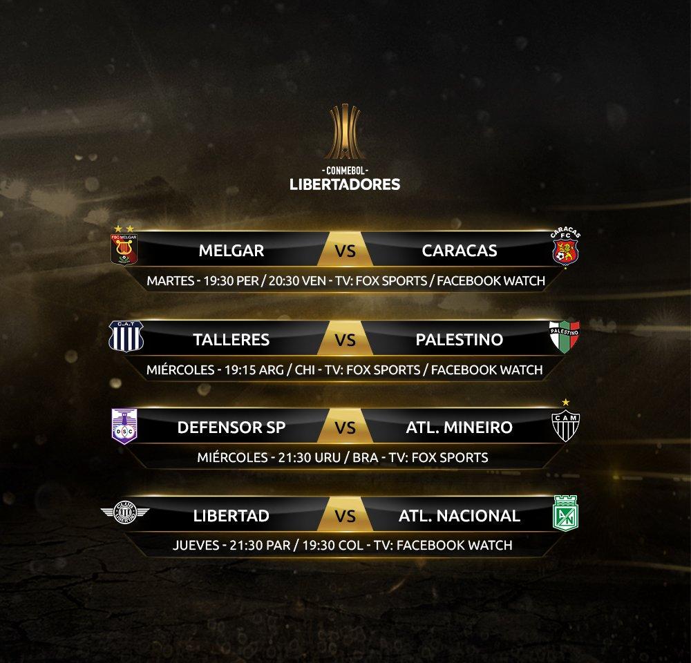 RT @Libertadores: 🏆😎 ¡Comienza la Fase 3 de la #CONMEBOLLibertadores, la última etapa rumbo a los Grupos!