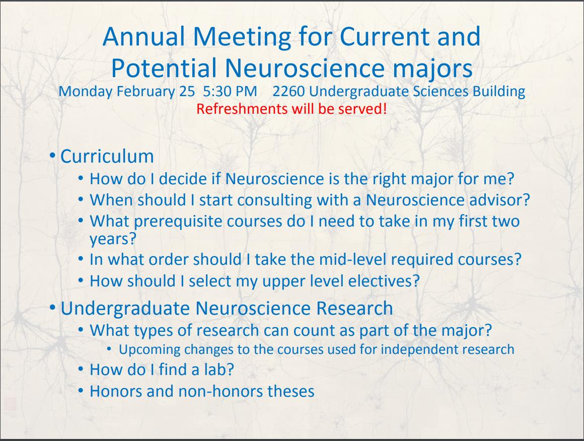 U-M LSA Neuroscience (@UmichNeurosci) | Twitter