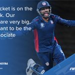 #MondayMotivation from our #TeamUSA🇺🇸 Vice-Captain, @JaskaranUSA!Catch his recent interview with @TOISportsNews here ➡️: https://t.co/k27Y7WMOn4