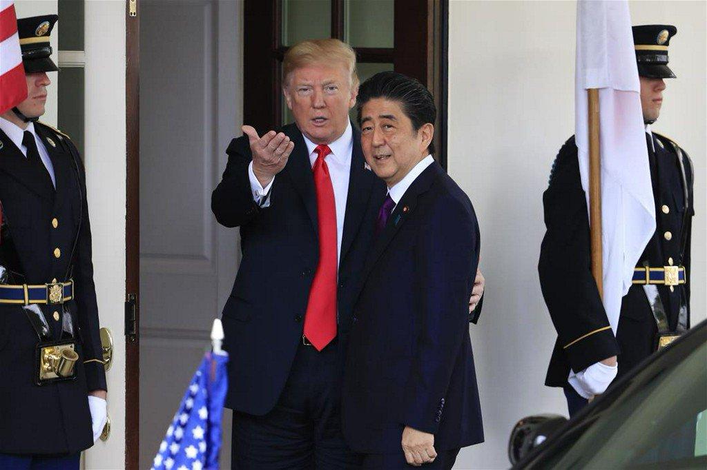 Abe Nominated Trump for Nobel: Report https://t.co/j5GrPUsX9g