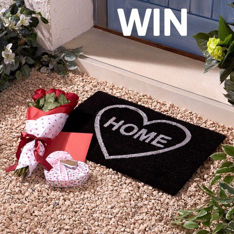 If you&#39;ve been walked all over this Valentine&#39;s Day fear not, because you can WIN this romantic doormat!!  http:// ow.ly/VMqg30nHtJL  &nbsp;   To ENTER simply RT, FOLLOW &amp; TAG a mate with #WinStudio in the comments. UK only. Ends 20/02/19 #ValentinesDay #Win<br>http://pic.twitter.com/WIRtCyIeoM