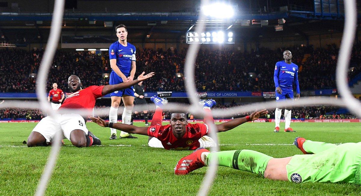 Sliding into the #EmiratesFACup quarter-finals like... 😏 #MUFC