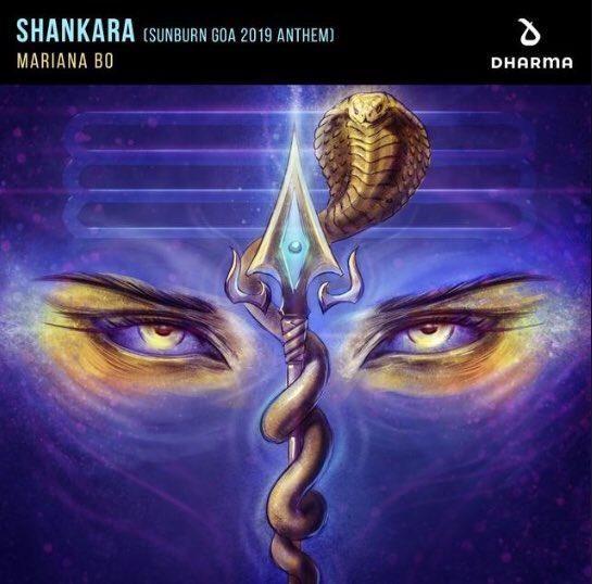 """Hoy se estrenó """"Shankara"""" de @MarianaBoMx. Con este tema arranca el 2019 para presentarlo este fin en @EDC_MEXICO💥🎡 ¡Ya disponible en todas las plataformas digitales!"""