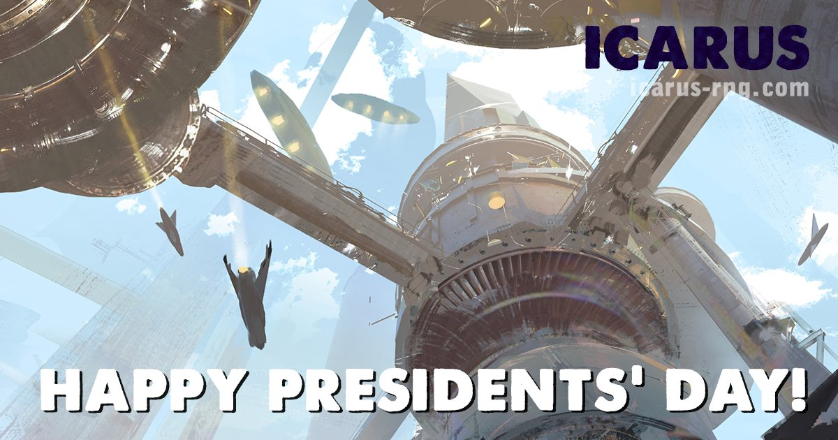 Think you could run things better this #PresidentsDay? Find out what sort of world you would shape in Icarus, a new collaborative storytelling game about exploring a city-nation on the edge of collapse: http://kck.st/2V3BWgJ. #RPG #worldbuilding