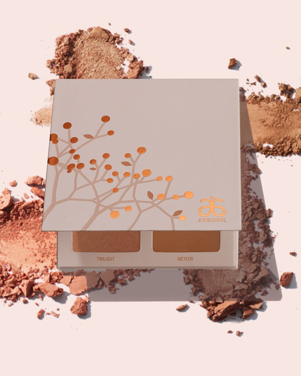 Open me for out-of-this-world glow! Who's gotten the Starlight Glow Palette in our brand new dusty pink book? http://bit.ly/2SaTqpE #Arbonne #ArbonneMakeup #VeganMakeup #Vegan #GlutenFree