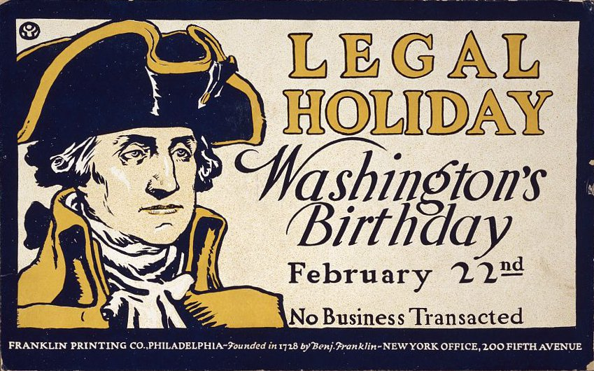 Today is George Washington's Birthday (observed) -- or is it #PresidentsDay? We get to the bottom of what's official and what's not: https://bit.ly/2GFOSp4  #GWBirthday