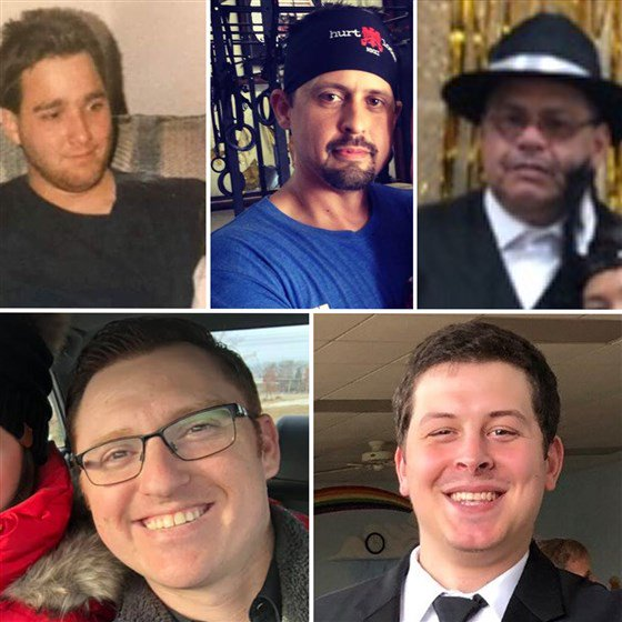 These are the victims of the Aurora, Illinois, shooting. https://nbcnews.to/2TSDc61 (1/6)