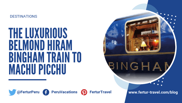 There are many ways to travel to #MachuPicchu, but the most luxurious way to travel is on the #HiramBingham #Train to Machu Picchu. Read More: http://bit.ly/HiramBinghamTrain…