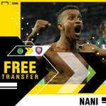 OFFICIAL | Orlando City have announced the signing of former Manchester United winger Nani on a free transfer from Sporting ✍
