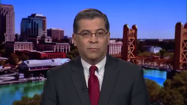 "California Attorney General Xavier Becerra: ""There will probably be about a dozen states that join us. We've been working closely with them for quite some time.""  Several states will join California lawsuit against Trump's border emergency declaration: http://hill.cm/bq6Rywj"