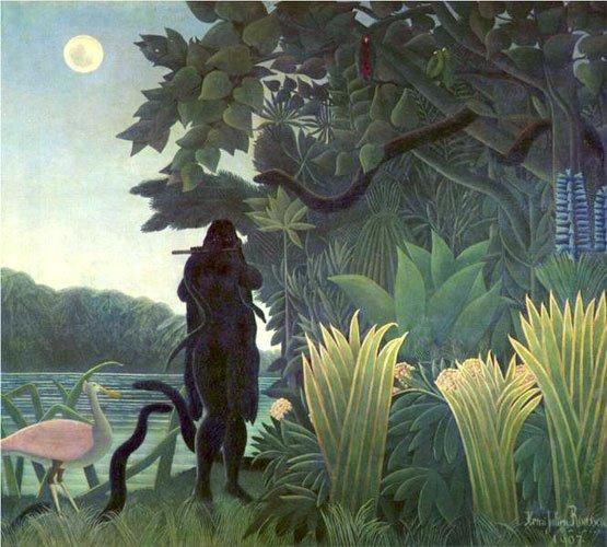 Анри Руссо. «Заклинательница змей». 1907 г. Масло, холст. Музей Орсе. Париж. Франция.