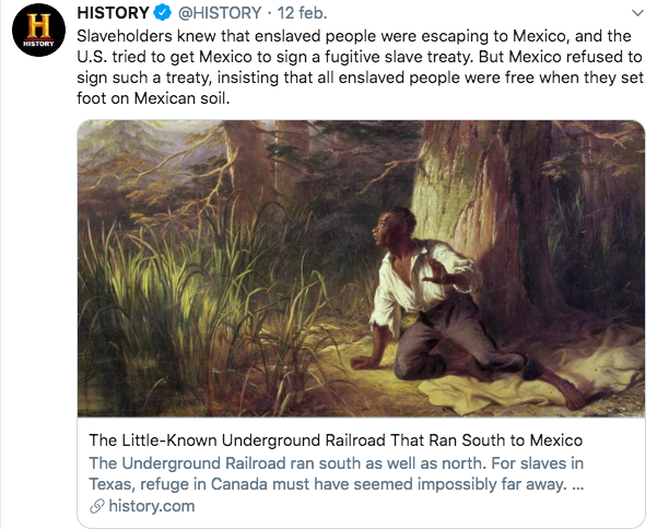 there way way before the #USA people were free in #Mexico