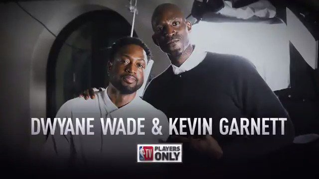 You're not going to want to miss this... 👀  KG & D-Wade sat down for an exclusive #PlayersOnly interview to discuss careers, Wade's last season and much more - 9pm ET on @NBATV!