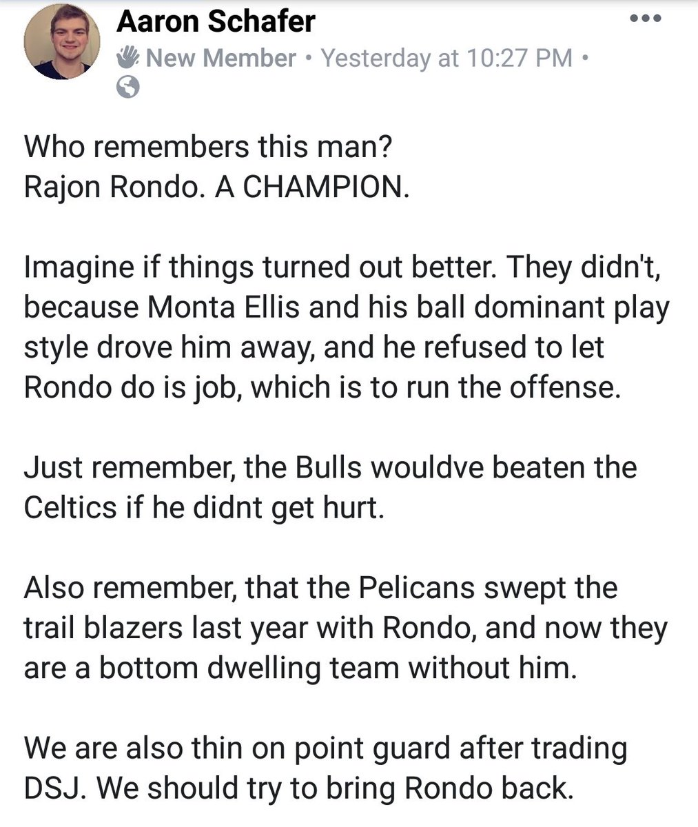 Dallas should try and bring Rondo back #MFFL