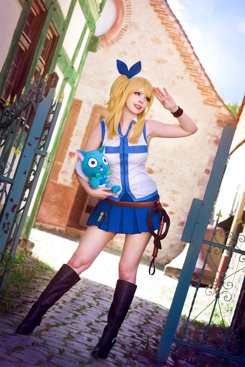 Some day, I wanna cosplay Lucy again &lt;3! #LucyHeartfilia #FairyTail #cosplay selfmade by me photos by blackbutterfly <br>http://pic.twitter.com/xEaHhNCFqc