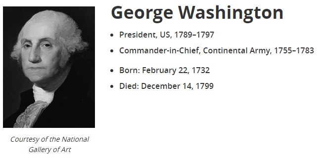 George Washington served as the first president of the United States. During his two terms, he backed the key economic and financial initiatives of his Treasury secretary, Alexander Hamilton, including the First Bank of the United States. Learn more:  https://t.co/WxLiXFmeui