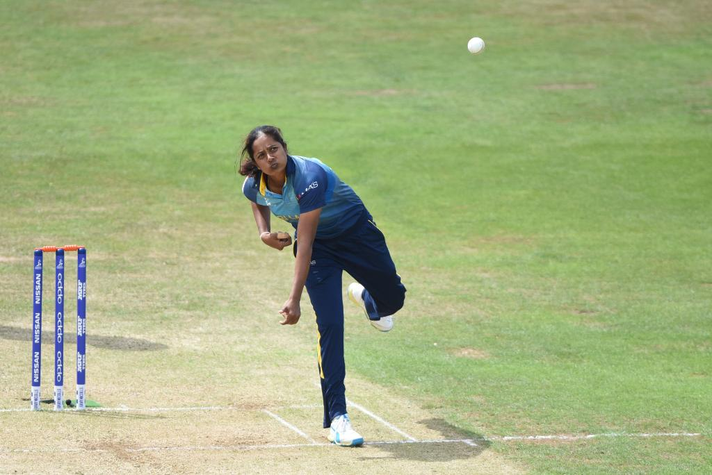 Happy birthday to Inoka Ranaweera!  The Sri Lankan left-arm spinner captained her country during the 2017 @cricketworldcup and has 103 international wickets to her name.