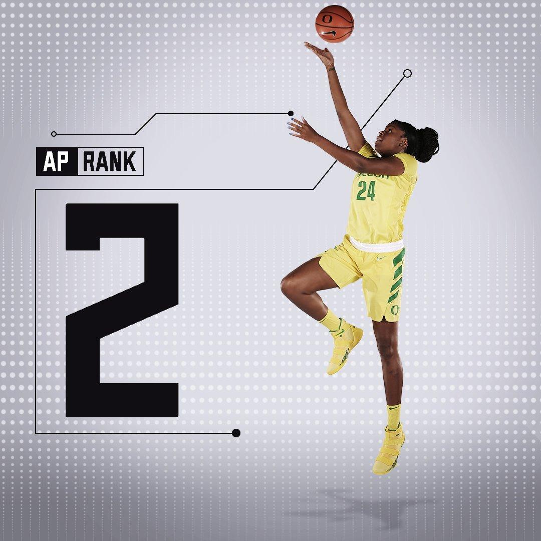 Oregon Women's Basketball's photo on AP Poll