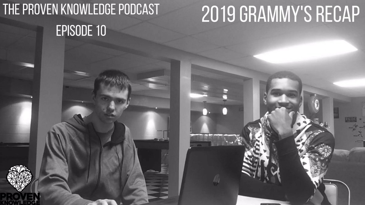 Make sure you checkout episode 10 of The Proven Knowledge Podcast now via the link in our bio and right here 👉 https://m.youtube.com/watch?v=aCPVbp5bYrc…  #provenknowledge #podcast #newepisode #musicpodcast #website #linkinthebio #igtv #grammys2019 #grammys #recap #ohiomusic #midwestmusic #rappers