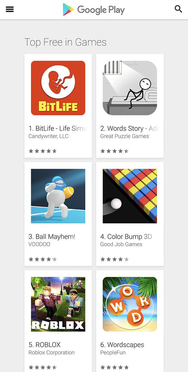 🤖 Android Bitizens! Thanks to you, BitLife is now #1 game