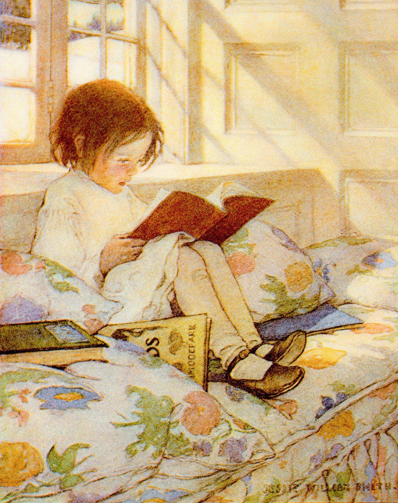 Мальчик с открытки читать
