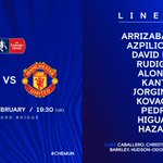 Team news is in at the Bridge! 👊Here's how the Blues line up... #CHEMUN
