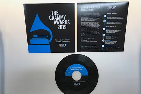 """This #SanFrancisco distributor got a client call """"out of the blue"""" - and what resulted was an awesome project for the #GRAMMYs! http://bit.ly/2GzYouC #casestudy #promoproducts #branding"""