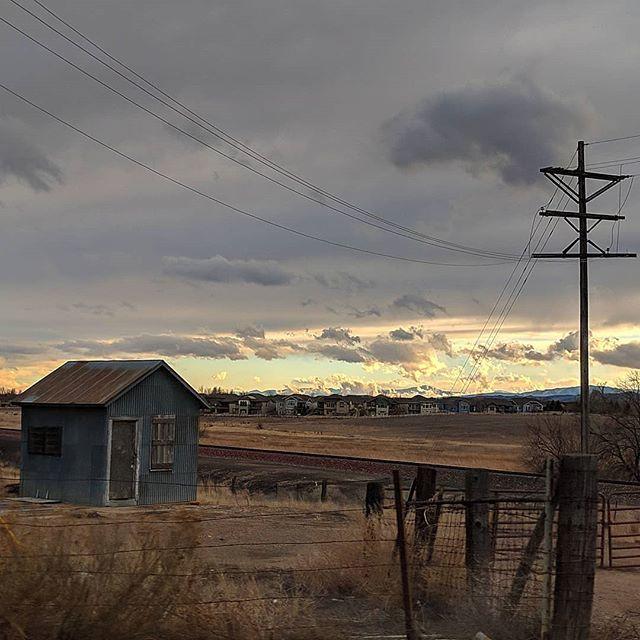 Encroachment.  #nature #naturephotography #landscape #landscapephotography #clouds #cloudphotography #cowx #colorado #mountains #rockymountains http://bit.ly/2tqmT4P