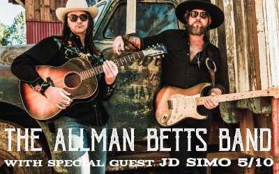 JUST ANNOUNCED! The Allman Betts Band (@allmanbettsband) with special guest JD Simo (@JDSimomusic) at The Kessler Theater 5/10! Tickets on-sale 2/20 at 10 A.M. --> http://ow.ly/K1AS30nKa9a   #kesslertheater #oakcliff #kesslerpresents