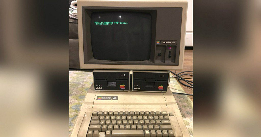 Man discovers 30-year-old Apple computer still in working order – including a saved game https://t.co/IijcGlNom5
