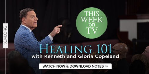 On this week's #BVOV, Kenneth Copeland teaches the will of God regarding healing. Are you believing for a miracle? Don't miss this week's Healing 101 broadcast. Watch and download study notes at https://kcmorg.us/2QRuItU .