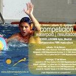 Image for the Tweet beginning: #Competición #Waterpolo #Resultados ●Ctos @fmn_oficial ●JDM @MADRID  @CNWMajadahonda 🆚: •
