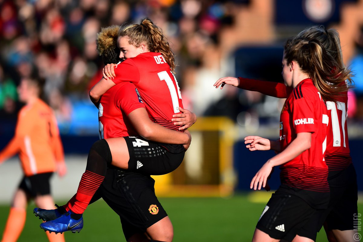 Our #SSEWomensFACup quarter-final opponents: Reading!   We'll be away for this tie, which will be played on Sunday 17 March. #MUWomen