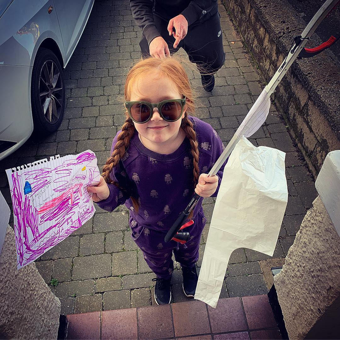 How amazing is my Patsy. Asked if she could go litter picking to make her walk to school walk nicer!! How much rubbish she collected for a 5 minute walk  #savetheplanet #everylittlehelps<br>http://pic.twitter.com/Ys1ZsdiflQ