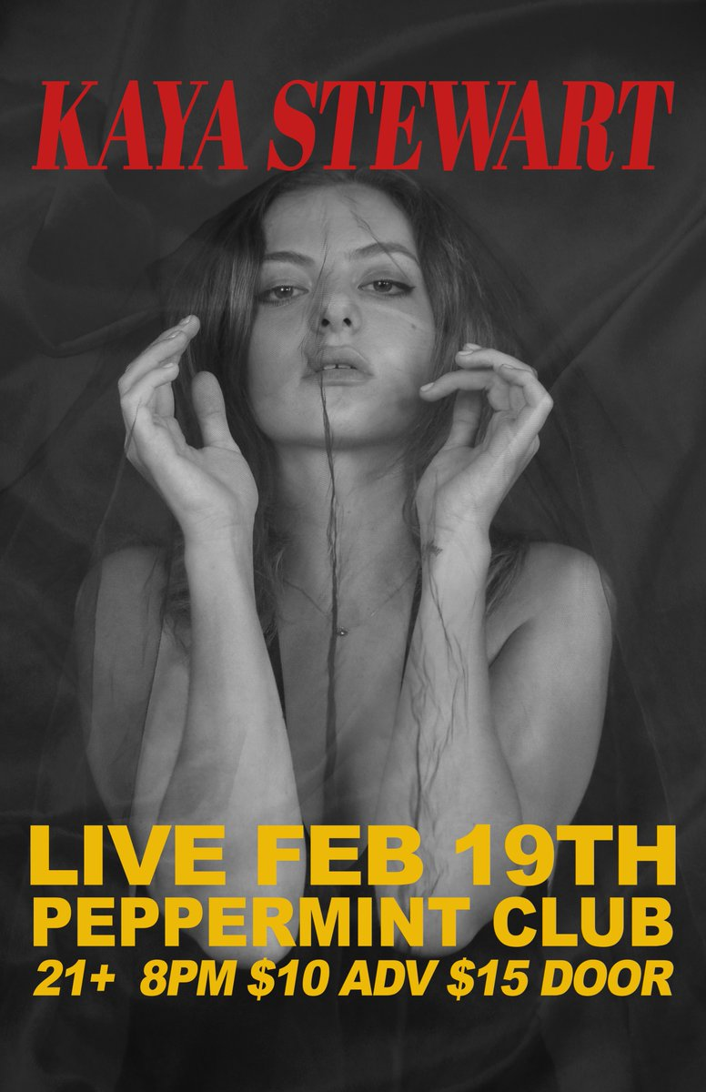 So Looking forward to tomorrow night (Tuesday 19th Feb)seeing Kaya live @henrys_la   This club has great sound (which is rare 😅😅, sorry I'm an audio freak) . Hope you can join us show will be great, and sound great :)